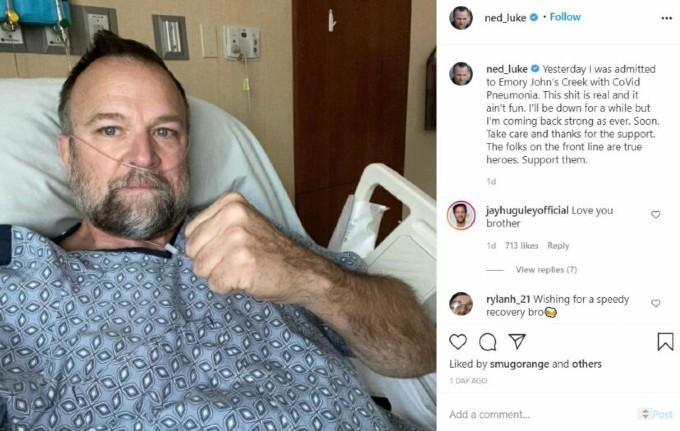 Ned Luke actor de GTA V hospitalizado por covid-19