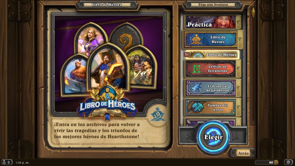 Heathstone Book of Heroes' new solo adventure will bring Uther and Anduin.