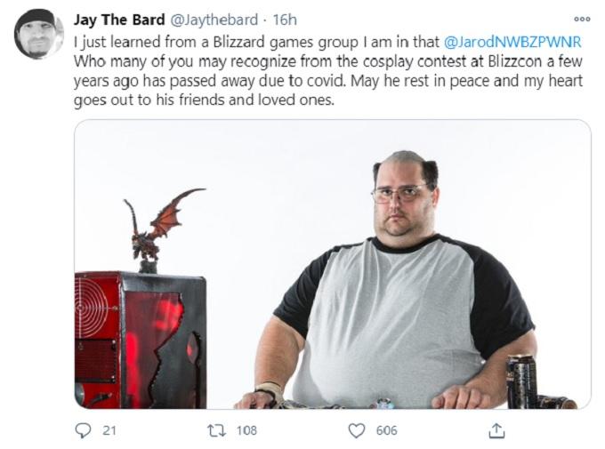 Muere Jarod Nandin World of Warcraft