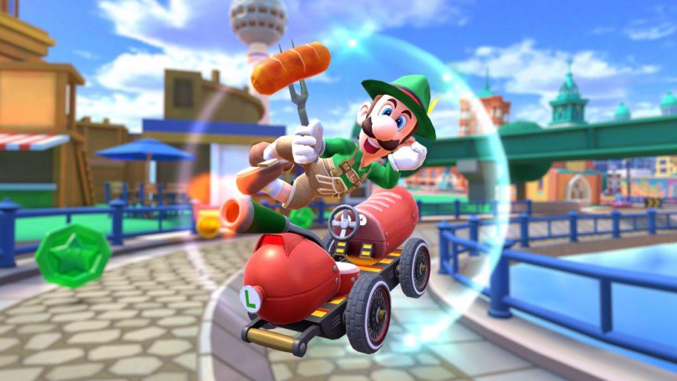 El nuevo tour de Mario Kart nos llevará a Alemania de la mano de Luigi.