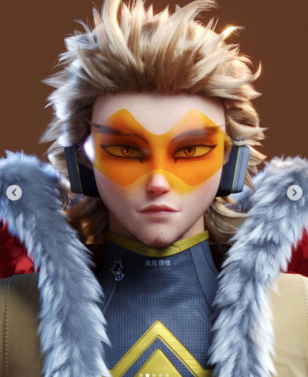 My Hero Academia: This is what Hawks might look like in a CGI film