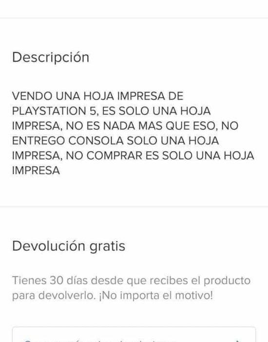 Prueba de que la gente no lee en México: Venden fotos de PS5... ¡Y las compran!