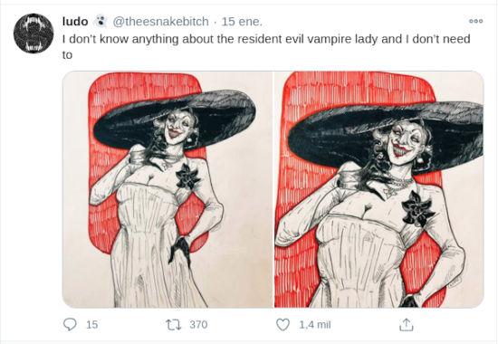 Resident Evil Village: 'La Vampiresa' fascina en redes sociales
