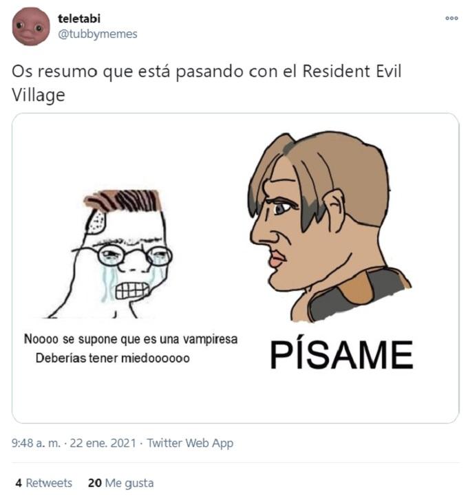 Meme Resident Evil