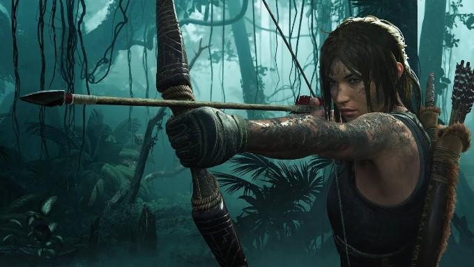 Lara Croft en Tomb Raider