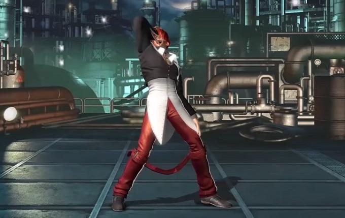 The King of Fighters XV Iori