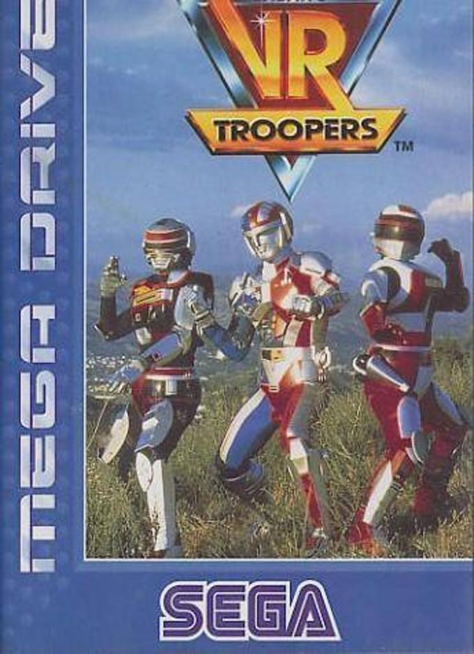 Juego de VR Troopers ára Sega Mega Drive