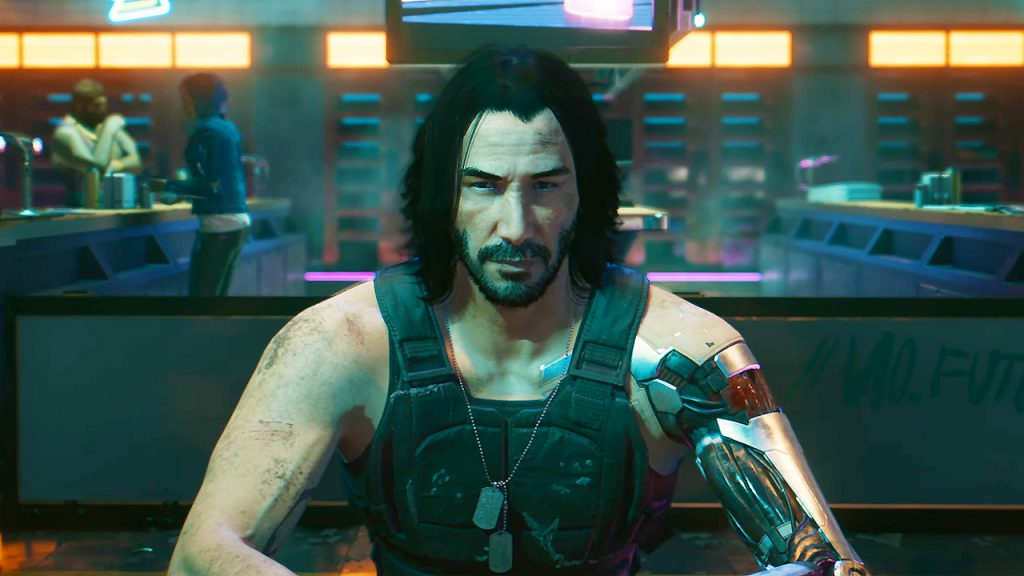 johnny silverhand, cyberpunk 2077, cd projekt red, keanu reeves