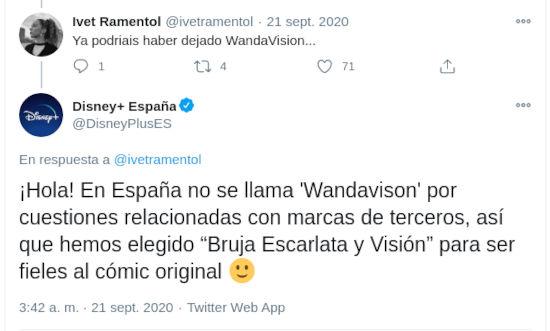 WandaVision, y el porqué se llama 'Bruja Escarlata y Visión' en España