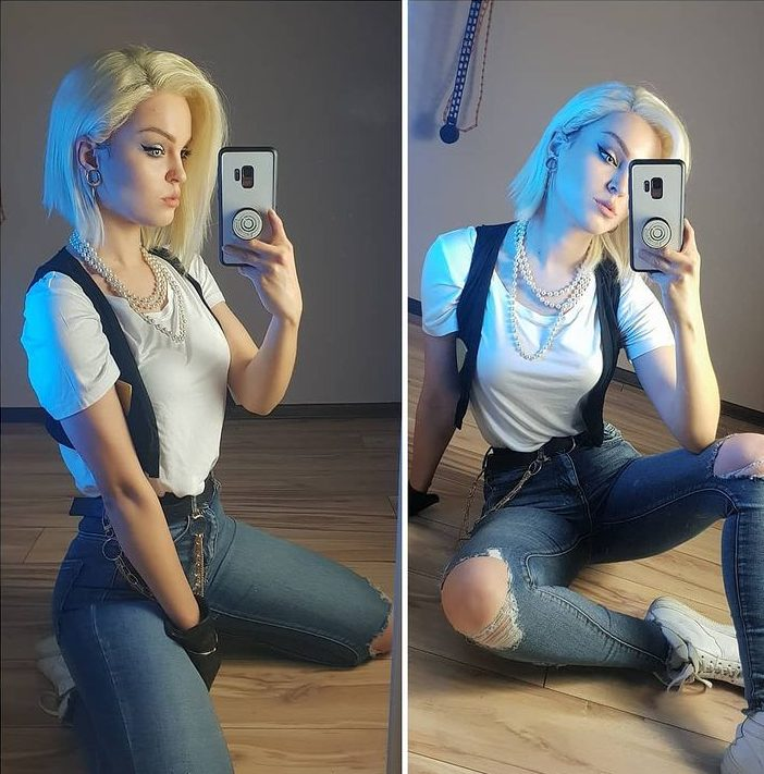 androide 18, andrasta, cosplay