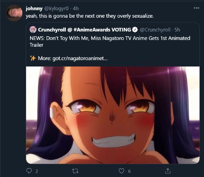anime Ijiranai Nagatoro San