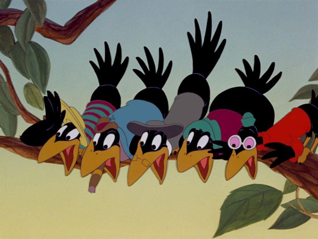 dumbo, cuervos, jim crow, disney