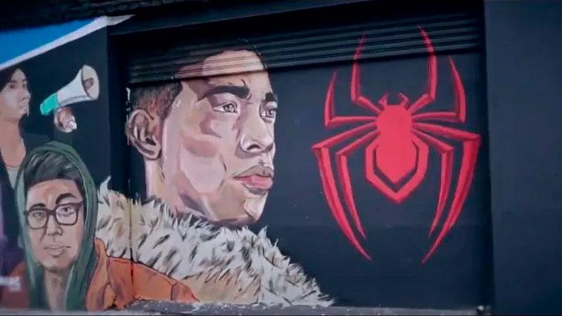 Mural Miles Morales