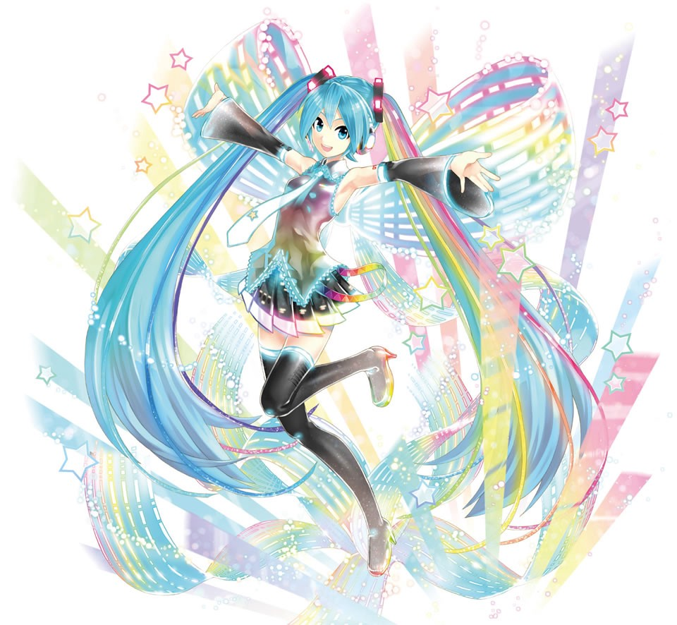 hatsune miku, vocaloid, crypton media, miku