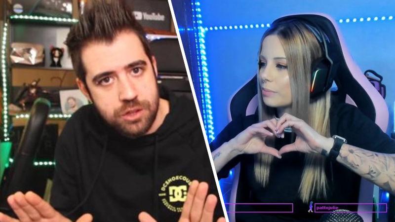 AuronPlay y Biyin anuncian el fin de su noviazgo en Twitch después de ocho años