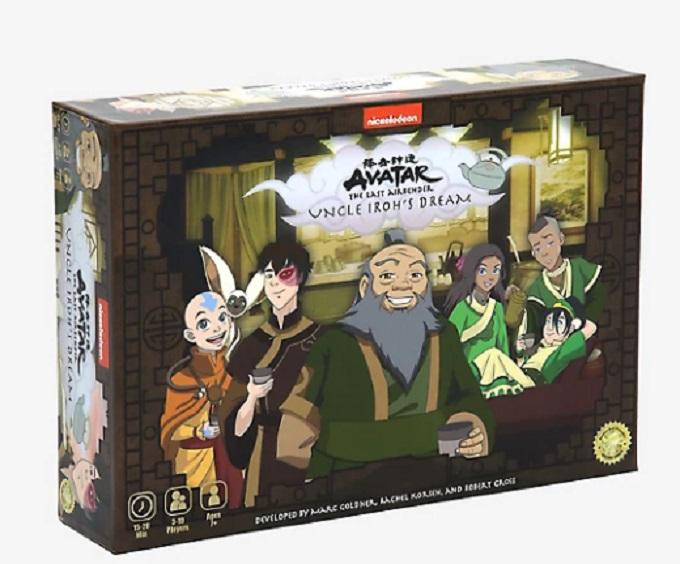 Avatar juego de mesa tío Iroh