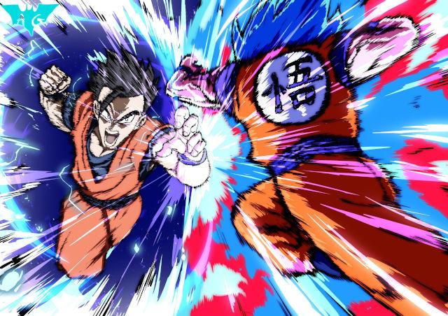 Dragon Ball Super: Fan recrea batalla de Goku vs. Gohan