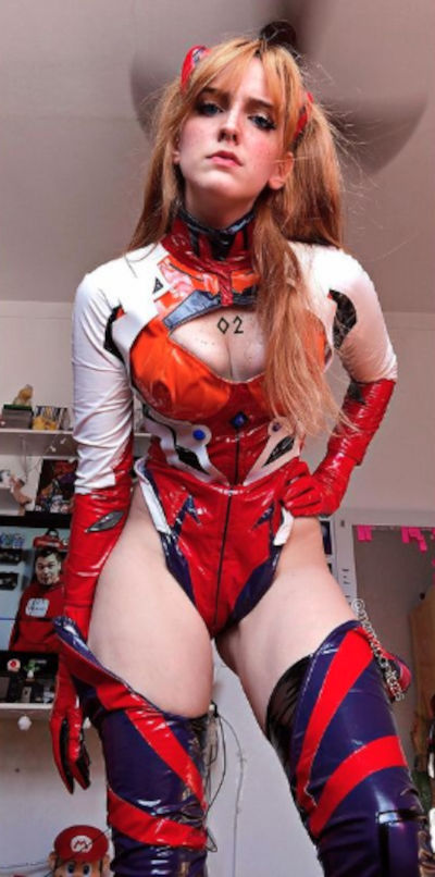 Evangelion: Asuka Langley gets a new cosplay