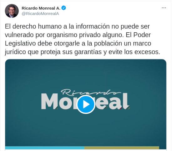 En México quieren regular Twitter y Facebook