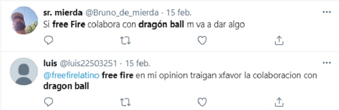 Free Fire colaboración Dragon Ball