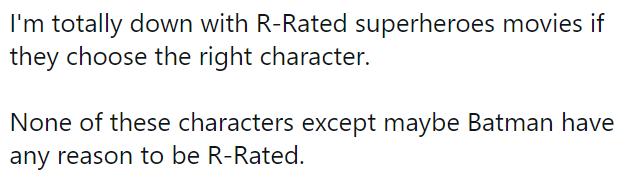 Tanto fans como extraños están molestos porque una cinta de la Justice League será para mayores de edad. ¿Cuál es el motivo detrás?