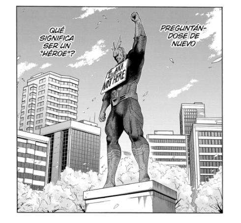 My Hero Academia mostró una realidad desoladora en el #300 del manga, especialmente por lo que All for One alguna vez le dijo a All Might.