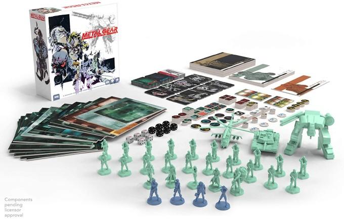 Metal Gear juego de mesa