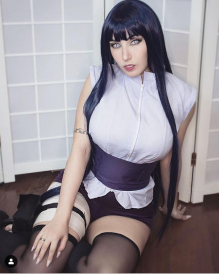 Naruto Shippuden: Hinata Hyūga consigue nuevo cosplay