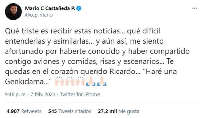 mensaje de Mario Castañeda
