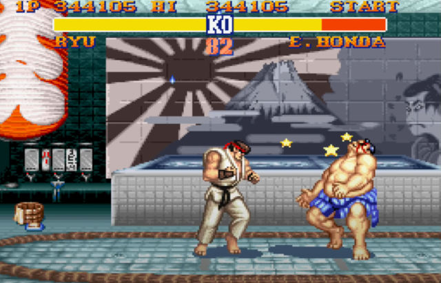 Street Fighter II tiene cambios en Capcom Arcade Stadium