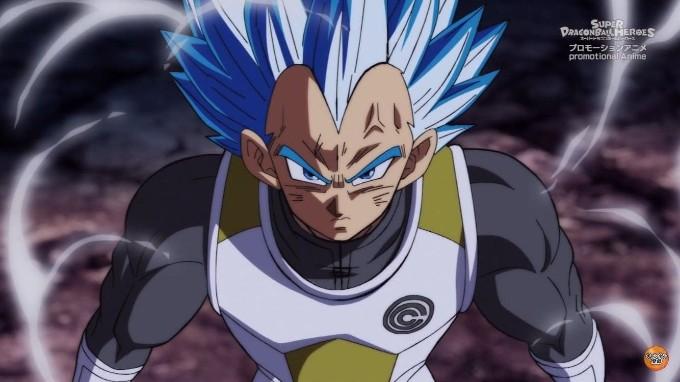 Vegeta Super Saiyajin Blue en Dragon Ball Super