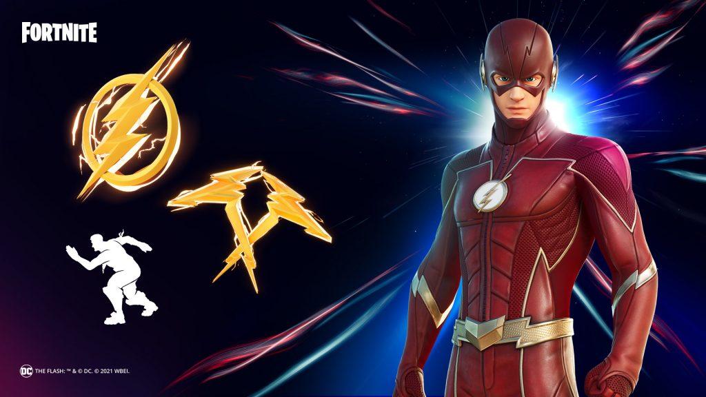 The Flash llega a Fortnite este 13 de febrero, con un conjunto que incluye la nueva skin y varios cosméticos. Y así puedes conseguirlo gratis.