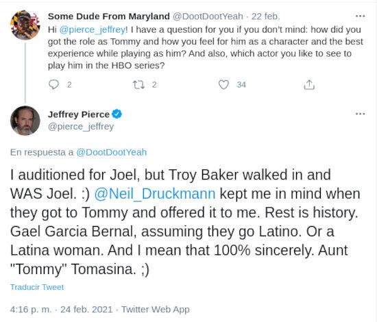 The Last of Us: Gael García podría ser Tommy en la serie