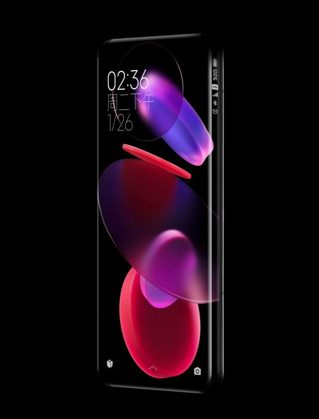 Xiaomi sorprende con elegante móvil sin botones ni puertos