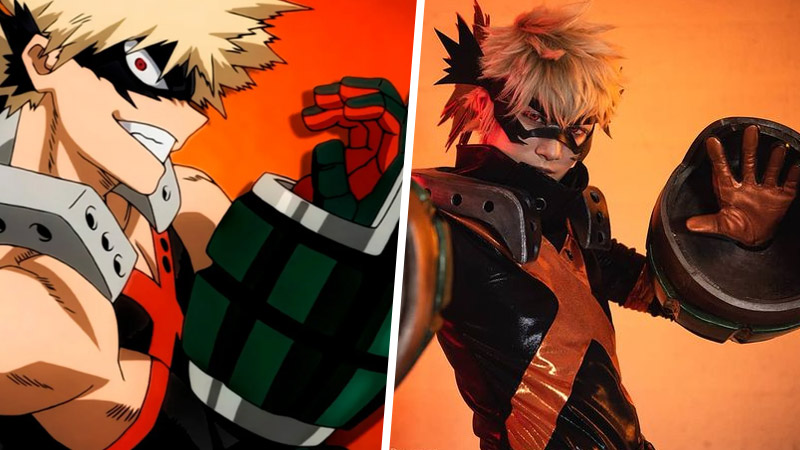 My Hero Academia: Bakugou muestra su orgullo en este cosplay