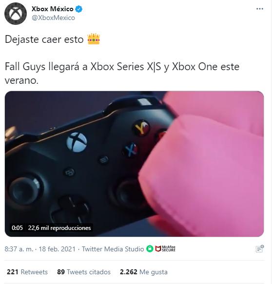 Fall Guys sorprendió a todos con nuevas noticias desde ayer, pues confirmó que llegará a Nintendo Switch y Xbox en verano de 2021.