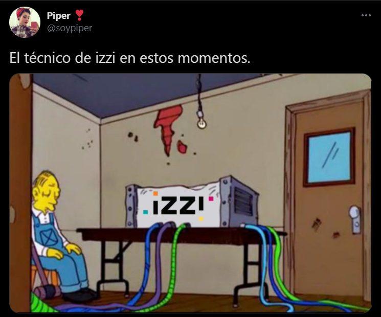 internet, izzi, fallas