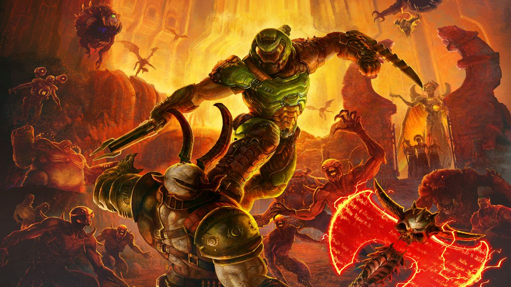 doom, doomguy, doom slayer