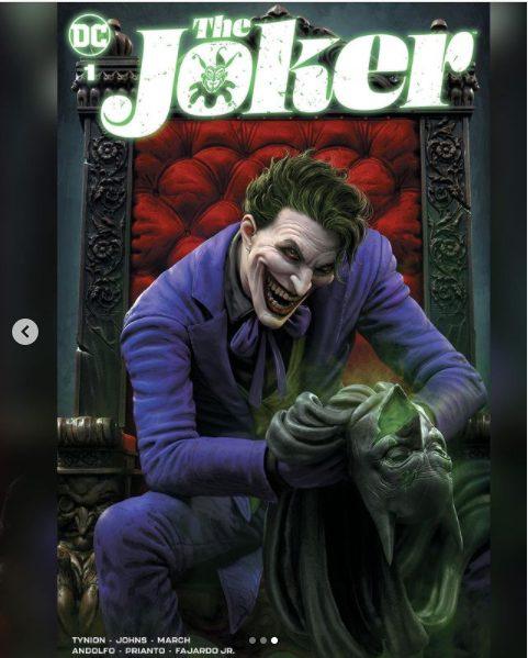 Joker por parte del ilustrador de God of War