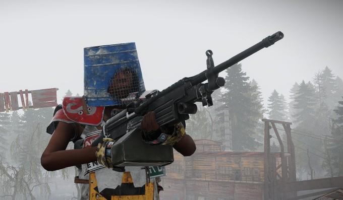 Ametralladora m-249