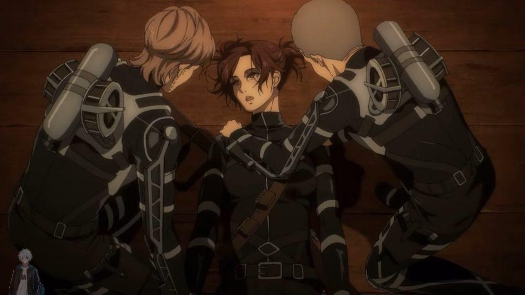 sasha, attack on titan, shingeki no kyojin