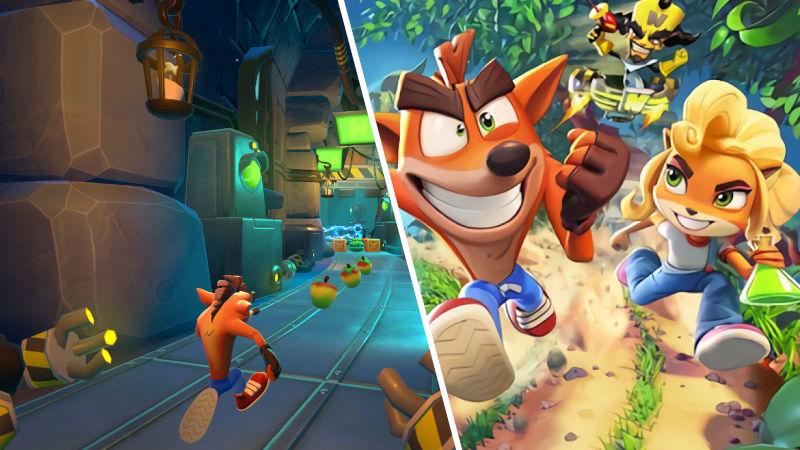 On the Run!: Crash Bandicoot en tu móvil ya tiene fecha de estreno
