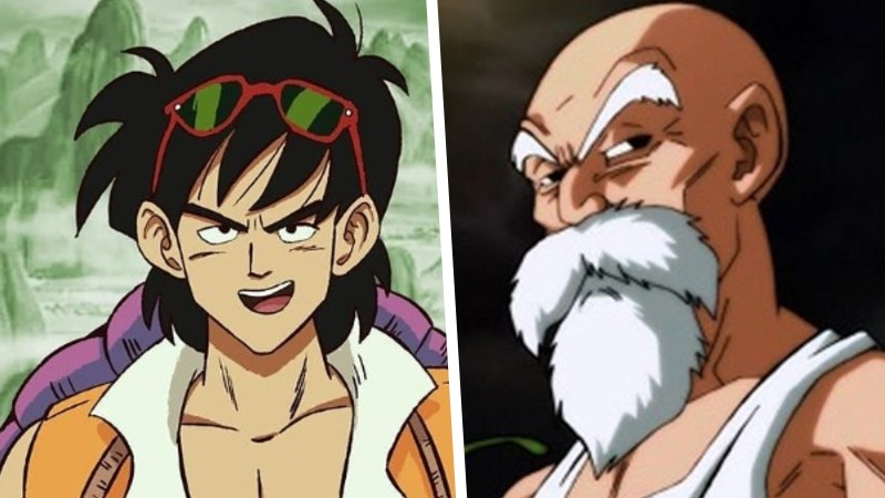 Dragon Ball: El maestro Roshi y Tsuru volvieron a ser jóvenes en un gran fanart