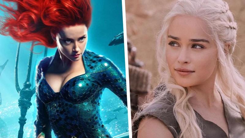 Aquaman: Así se vería Emilia Clarke si sustituyera a Amber Heard como Mera