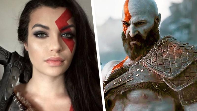 Kratos tuvo su mayor cambio en este original cosplay de God of War