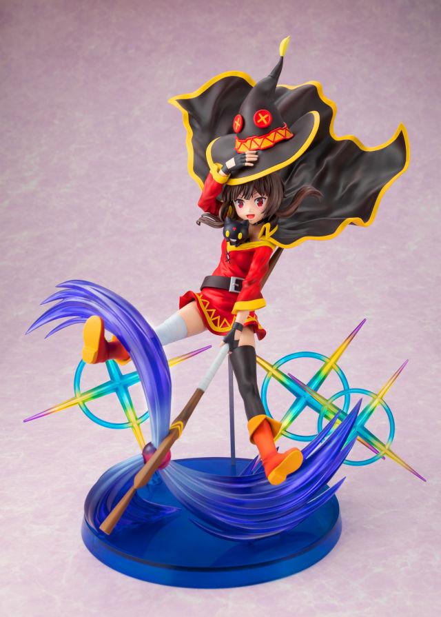 Mira esta nueva figura de Megumin de Konosuba