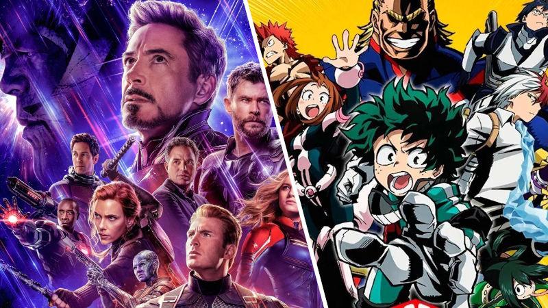 My Hero Academia y Avengers tienen un inesperado crossover