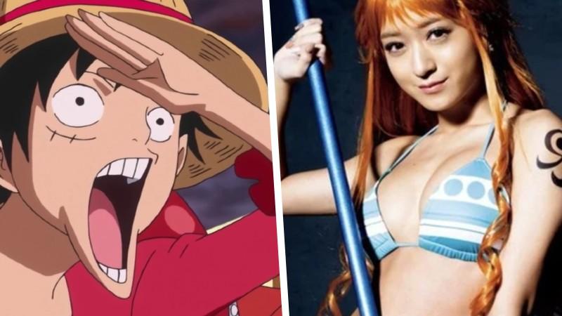 Playboy se lució con un homenaje a One Piece con cosplay