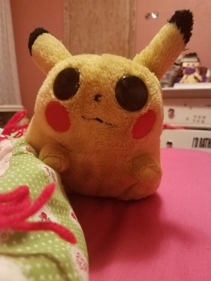 Pikachu ojos
