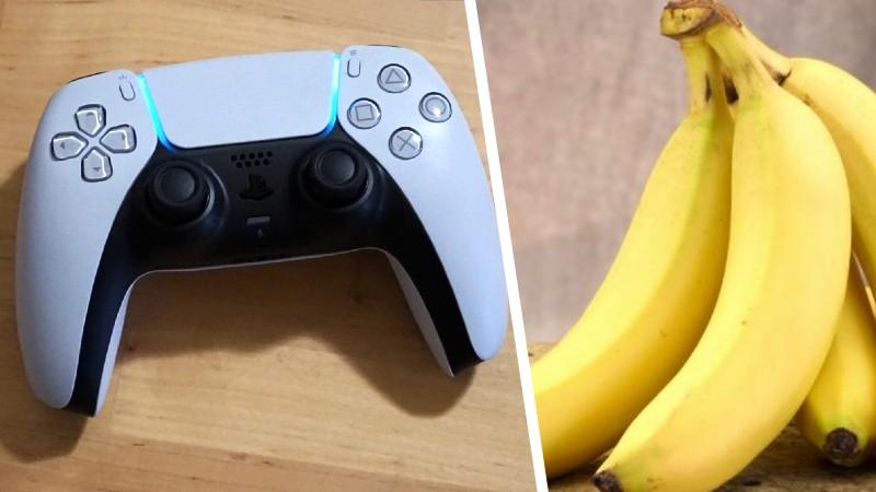 Olvida al Dualsense: PlayStation mostró un plátano control en una patente